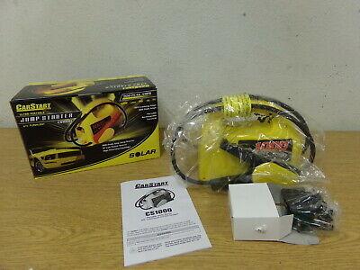 Car Start CS1000 Ultra Portable Jump Starter w/ Flashlight 900 Peak 250 Cranking Ultra Portable Jump Starter