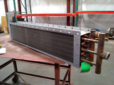 Brand New Water Coil 10.5 H X 46 L X 5.5 W 2-rows