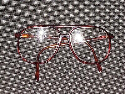 LOZZA USA MADE IN ITALY MOD 3021 MEN'S BROWN EYEGLASSES FRAMES 58 14 (Glasses Frames Made In Usa)