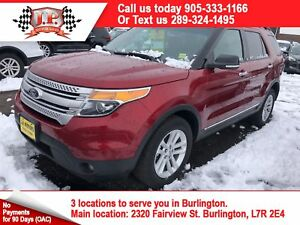 2015 Ford Explorer XLT, Navi, 3rd Row Seating, Back Up Camera, 4