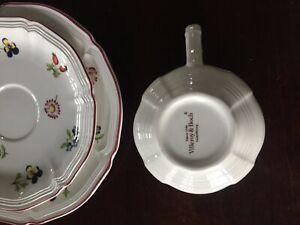 Villeroy & Boch Tea Cups, Saucers and Dessert Plates