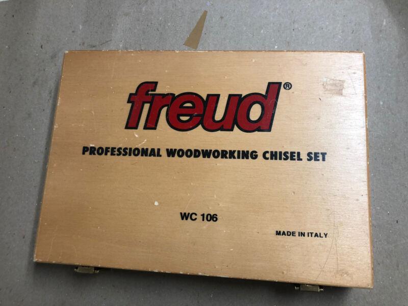 Freud Woodworking Chisel Set 6 Piece -WC106