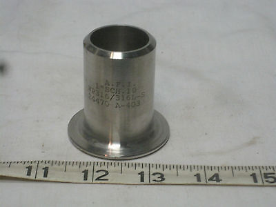 Stainless Steel 1 Butt Weld Stub End