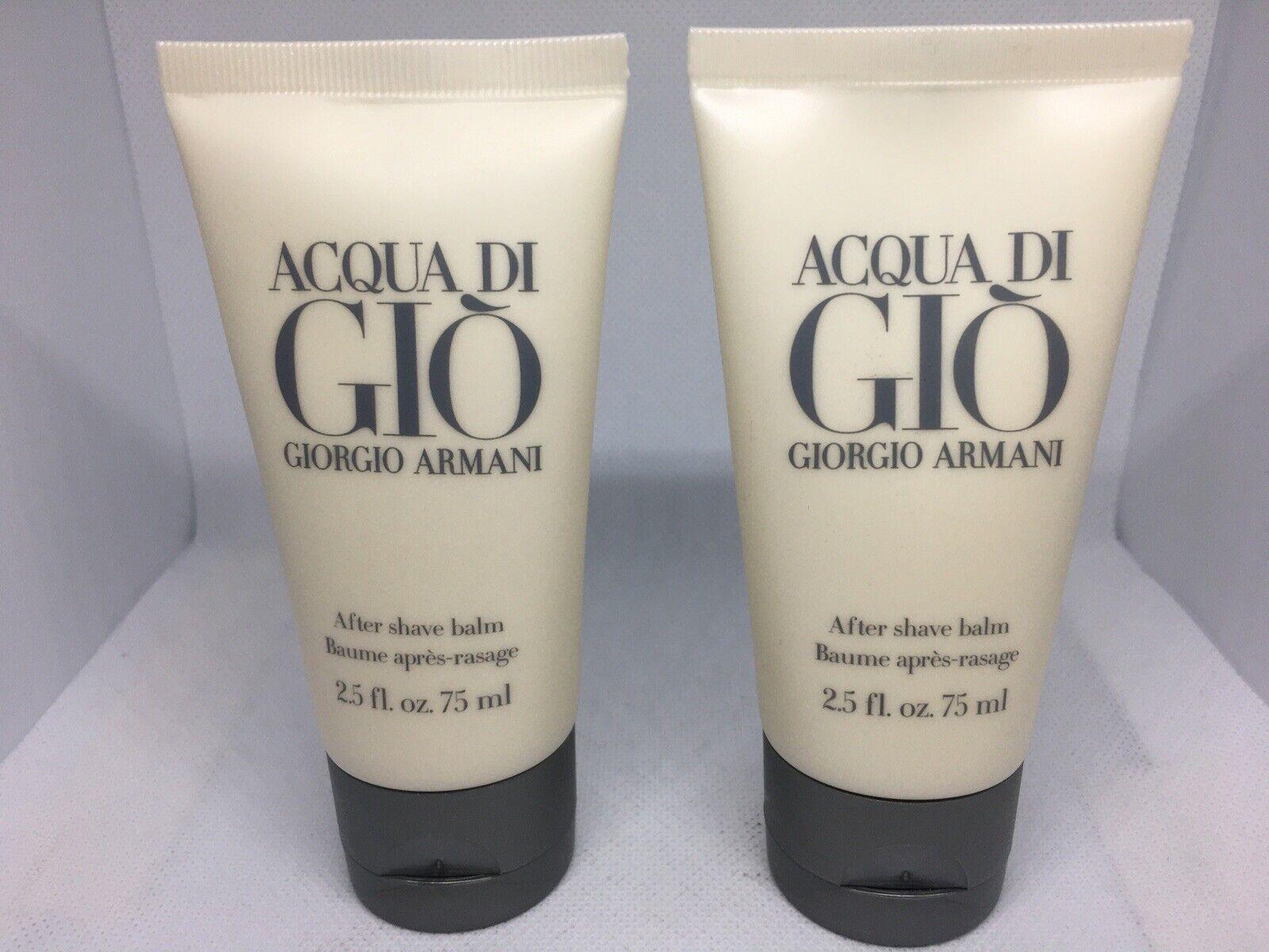 *NEW*Giorgio Armani Acqua Di Gio After Shave Balm Men 2.5 O