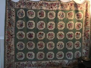 Wool Rug Aubusson Catpet