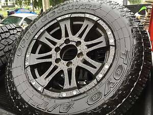 Toyo Tyres LT245/70/R17 x 5, CSA Mullins 17x8 Raptor 6/139.7 x 5 Bulimba Brisbane South East Preview