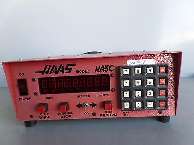 Software-31 Brush 17 Pin Haas Control Box Sco1m Rotary Table Indexer Inv.19 Lms