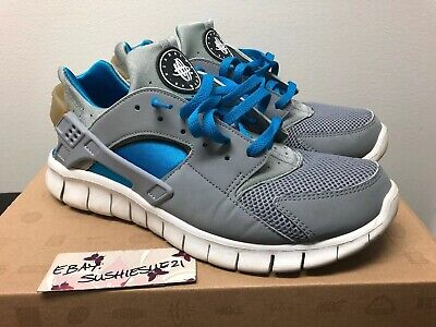 the latest 8fdbc 7dc04 Nike Huarache Free 2012 Sz 10.5 Grey Blue Air Max 1 Neon Safari Viotech