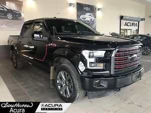 2015 Ford F-150 Lariat SuperCrew Cab, Bluetooth, All Wheel Drive