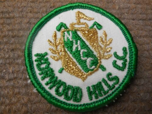 Vintage Norwood Hills Country Golf Club St Louis Missouri Cloth Patch