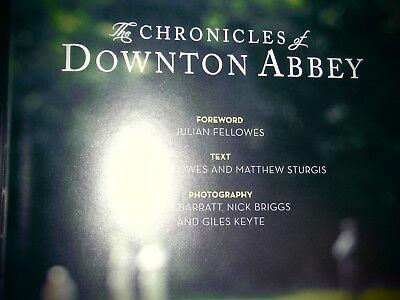 The Chronicles of Downton Abbey (Official Series 3 TV tie-in) by Jessica Fellow… for sale  Northampton