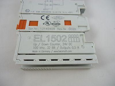 Beckhoff El1502 Updown Counter 24v Dc 32bit Output 0.5a