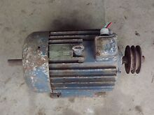 ASEA 3 Phase Electric Motor 5 HP Red Lion Central Goldfields Preview