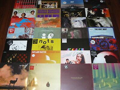 50 x LP  LOT ALBUMS NEUFS INDIE ROCK / SOFT ROCK / PUNK / AMBIENT (2010-2016)