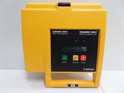 Meditech Physio-control Lifepak 500t Aed Trainer - As Is