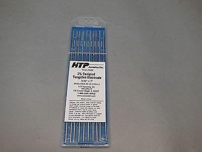 10 2 Ceriated Tungsten Tig Weld Electrodes 332 X 7