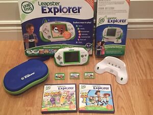 Console Leapster Explorer Video Game