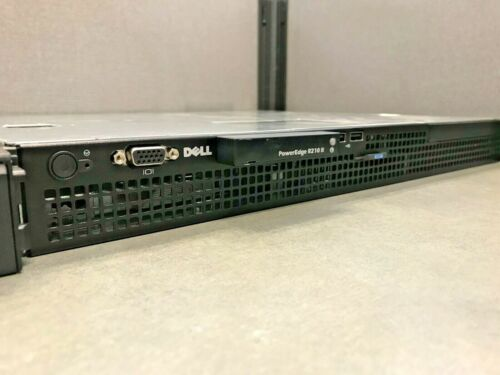 Dell PowerEdge R210 II 1U Server 1x Xeon E3-1220L 2.2GHz 8GB NO HDD NO RAILS