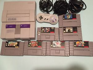 Super Nintendo bundle