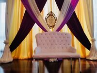 Affordable backdrops for any event starting at $200
