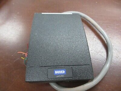 Hid Rp40-h Pivclass Wall Switch Smart Card Reader 920phrnek00005