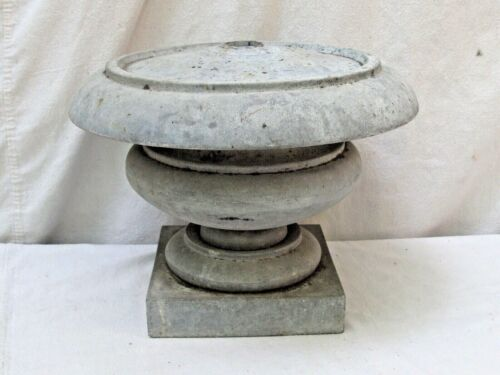 19thc Antique Architectural  Zinc Base