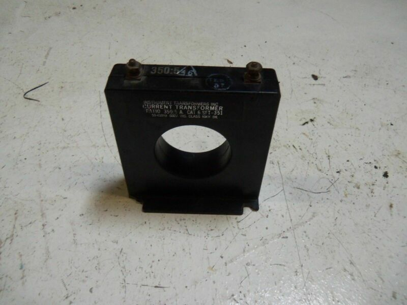 INSTRUMENT TRANSFORMERS 6SFT-351 CURRENT TRANSFORMER *USED*