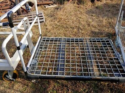 Industrial Push Pull Cart Wagon Flatbed
