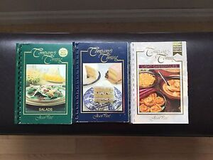 6 COMPANY'S COMING COOKBOOKS @ $3 EACH