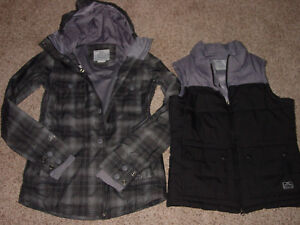 Womens Nike Bellevue 3 in 1 Snowboarding Thermal Insulation Jacket! Size S