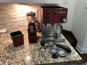 "Rancilio Silvia 2015 ""Special Edition"" + Grinder Package"