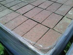 Red brick pavers 232x112x65mm Elizabeth East Playford Area Preview