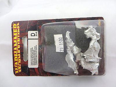 Warhammer Dark Elf Executioneers  nib blister metal