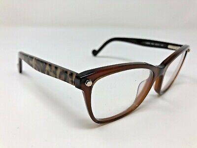 Liu Jo Eyeglasses Frame LJ2616 210 52-16-135 Cheetah Print Flex Hinge (Cheetah Print Eyeglasses)