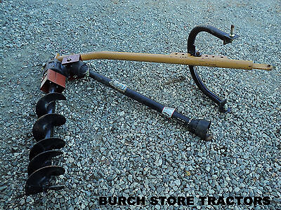 New Old Stock Leinbach 3 Point Hitch Post Hole Digger Auger