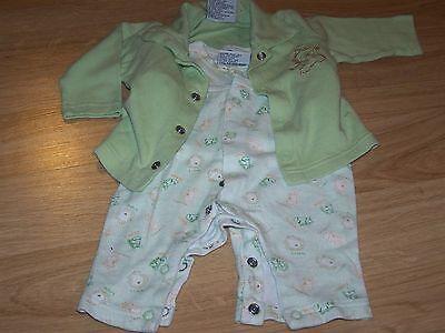 Size 3-6 Months Baby Paris 2 Piece Safari Outfit Set Romper & Jacket Top Lion - Baby Safari Outfit