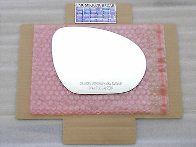 - RD302 Replacement Mirror Glass for NISSAN JUKE CUBE Passenger Side View Right RH