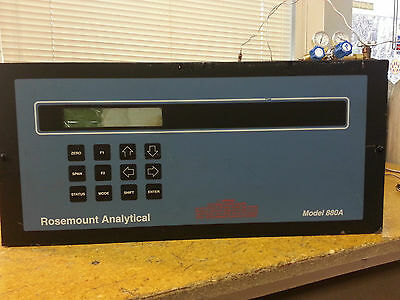 Rosemount 880a Process Infrared Co2 Analyzer C-22
