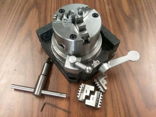 """Super Rapid Indexer w. 3"""" 3-jaw chuck horizontal & vertical extra jaws #SS-300"""