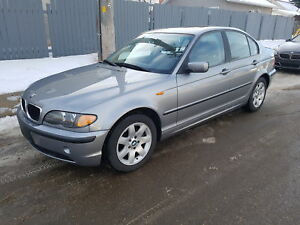 2004 BMW 325XI All Wheel Drive ONLY 121325km