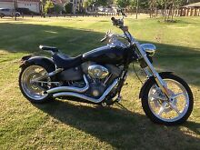 Harley Softail Rocker FXCW 09 with low k's Manning South Perth Area Preview