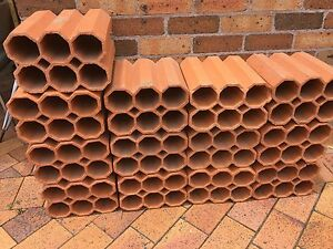 Terracotta Cylinder Wine Rack North Richmond Hawkesbury Area Preview