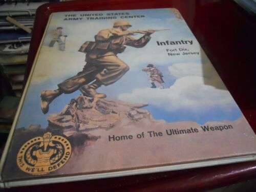 1960 UNITED STATES ARMY TRAINING CENTER YEARBOOK, INFANTRY, FORT DIX, NJ