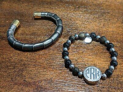 2 Rustic Cuff Bracelets