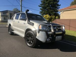 NEAT AND TIDY 2008 TOYOTA HILUX SR5 TURBO DIESEL AUTOMATIC