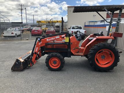 Kubota tractor 4wd with front end loader Prospect Vale Meander Valley Preview