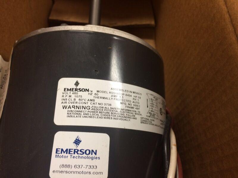 EMERSON 140 F CONDENSER FAN MOTOR 3738 1/2 HP NEW
