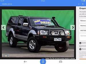2009 Nissan Navara Ute Wantirna South Knox Area Preview