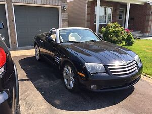 2005 Chrysler Crossfire leather convertible