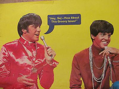 Mark Lindsay, Paul Revere and the Raiders, Sajid Khan, Full Page Vintage Pinup